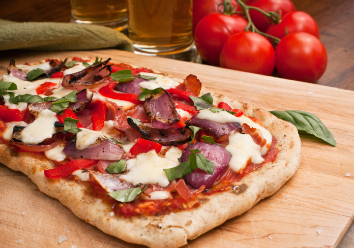 homemade pizza recipe from DeIorios
