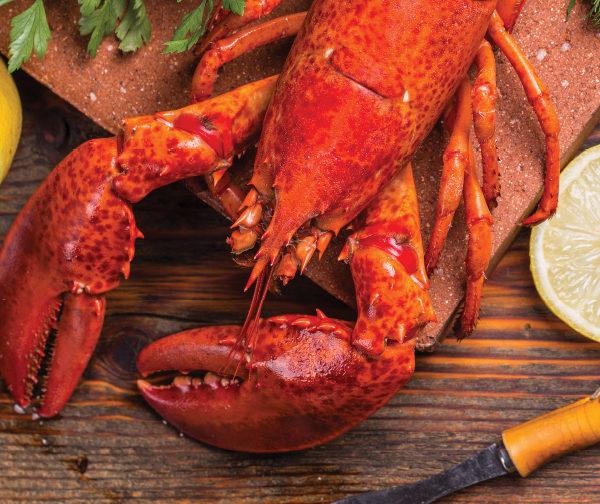 lobster pizza recipe from DeIorios