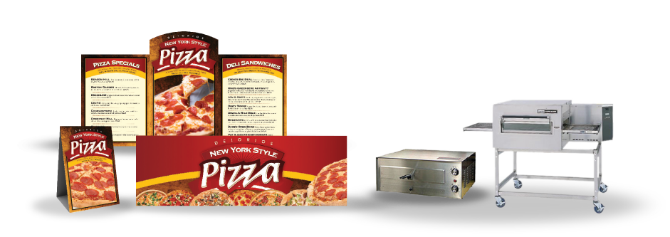 brand your pizza with deiorios