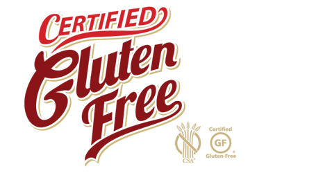 DeIorios is Certified Gluten Free