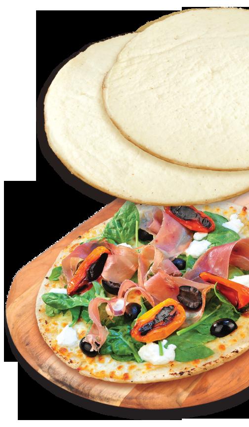 gluten free shell pizza