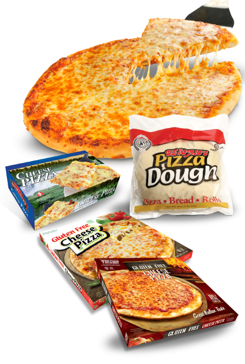 retail private label dough pizza