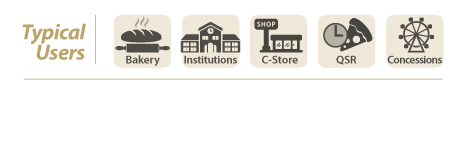 bakery institutions, c store, qtr