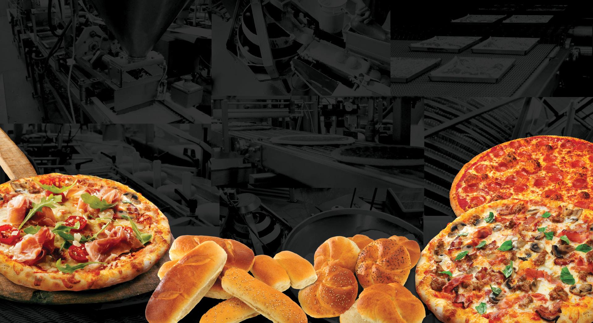 Bread, Rolls, Pizza Dough, Topped Pizza