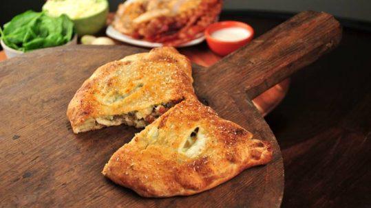 chicken bacon ranch calzone recipe