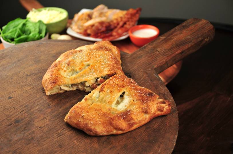 chicken bacon ranch calzone recipe