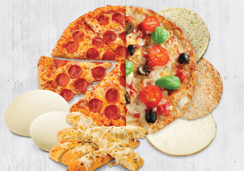 Comfort Foods Pizza Crust Options