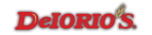 DeIorio's logo with shadow