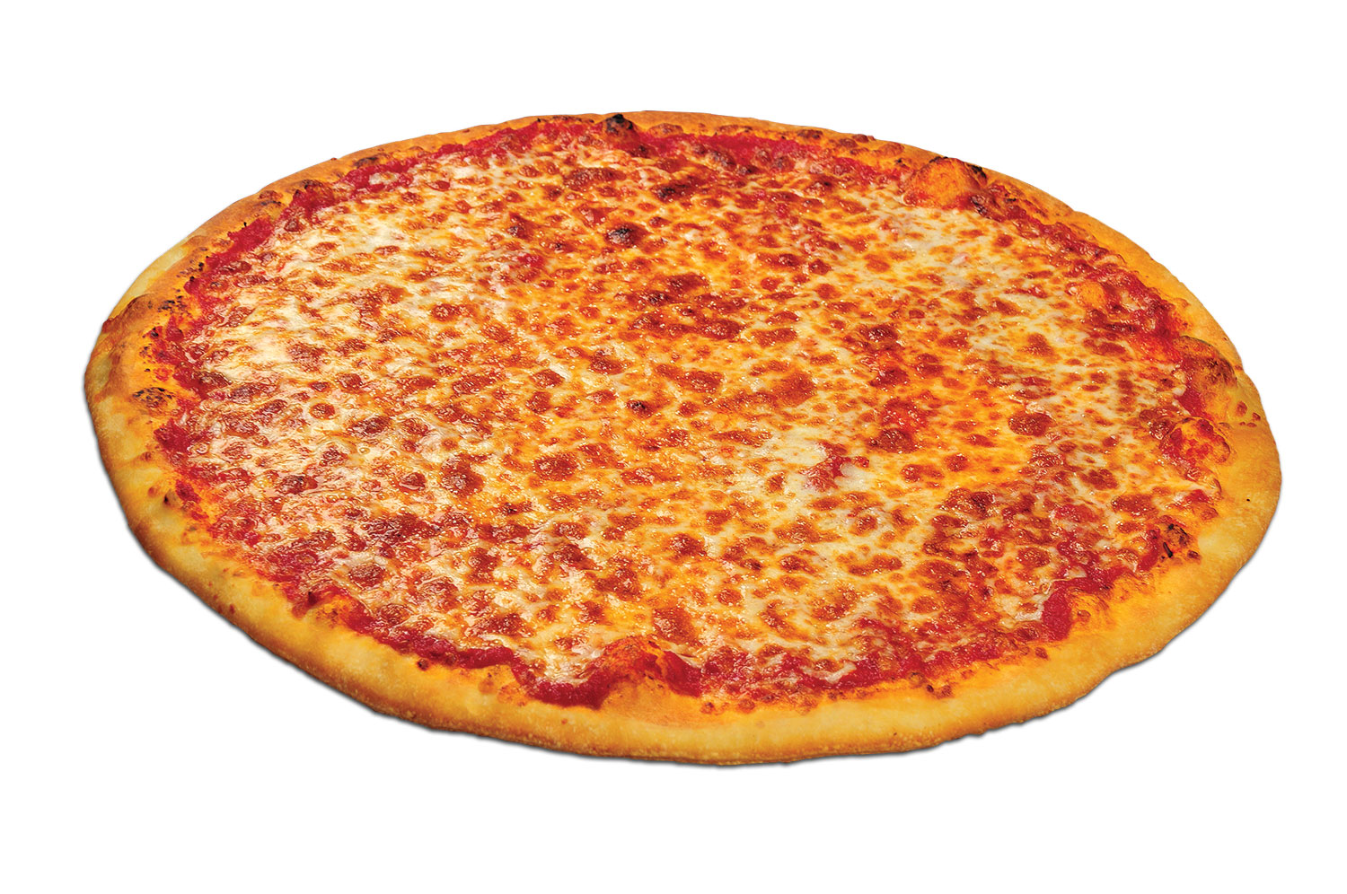 cheese pizza unsliced