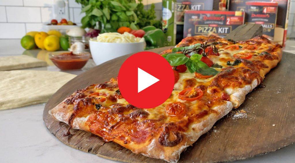 Tomato Herb Pizza Video Play
