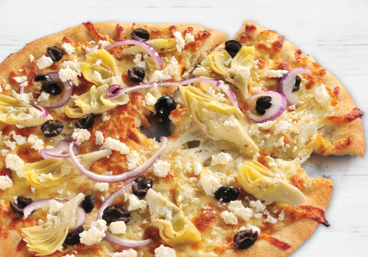 Greek Style Acropolis Pizza